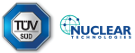 TÜV SÜD and Nuclear Technologies Logos