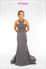 gunmetal prom gowns